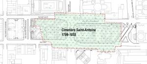 Sainte Antione Cemetery Limits