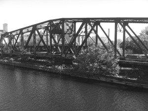 Swing Bridge BW